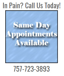 Same Day Appointments Available box
